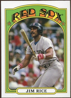 2013 Topps 1972 Topps Minis #TM46 Jim Rice