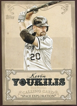 2013 Topps Calling Cards #CC12 Kevin Youkilis