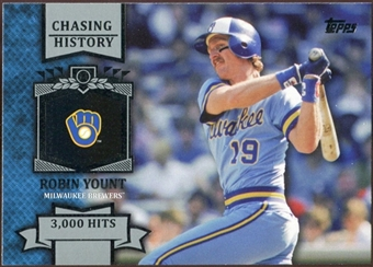 2013 Topps Chasing History #CH34 Robin Yount