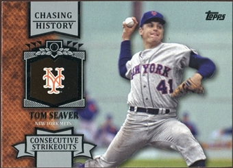 2013 Topps Chasing History #CH38 Tom Seaver