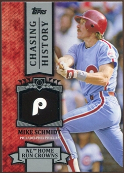 2013 Topps Chasing History #CH40 Mike Schmidt