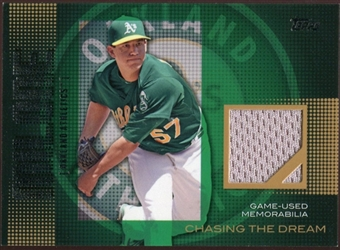 2013  Topps Chasing The Dream Relics #TM Tommy Milone