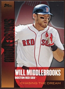 2013  Topps Chasing the Dream #CD3 Will Middlebrooks