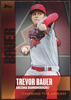 2013  Topps Chasing the Dream #CD4 Trevor Bauer