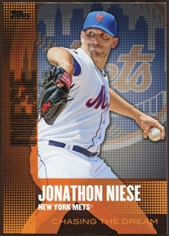 2013  Topps Chasing the Dream #CD15 Jonathon Niese