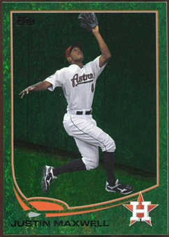 2013 Topps Emerald #178 Justin Maxwell