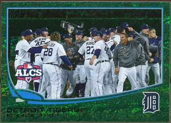 2013 Topps Emerald #179 Detroit Tigers