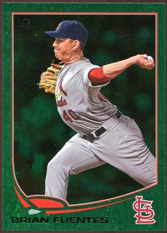 2013 Topps Emerald #188 Brian Fuentes