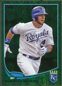 2013 Topps Emerald #204 Alex Gordon