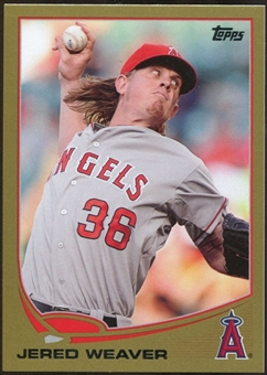 2013 Topps Gold #36 Jered Weaver 1214/2013