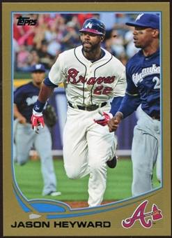 2013 Topps Gold #222 Jason Heyward 48/2013