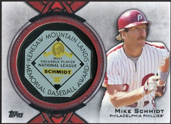 2013 Topps Award Winners Trophy #MS Mike Schmidt
