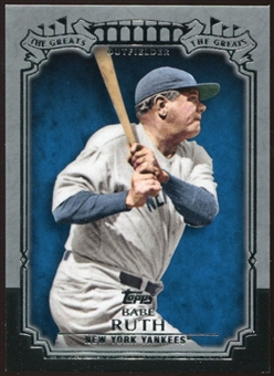2013 Topps The Greats #TG3 Babe Ruth