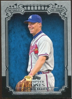 2013 Topps The Greats #TG17 Chipper Jones
