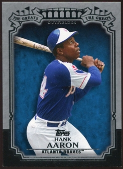 2013 Topps The Greats #TG22 Hank Aaron