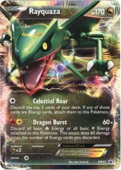 Pokemon Promo Single Rayquaza ex BW47