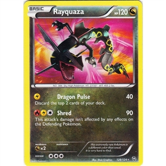 Pokemon Dragons Exalted Single Rayquaza 128/124