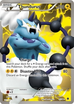 Pokemon Emerging Powers Single Thundurus 97/98