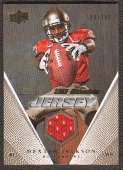 2008 Upper Deck Rookie Jerseys Gold #UDRJDJ Dexter Jackson /350