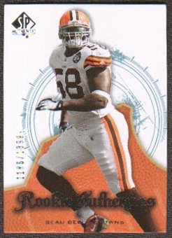 2008 Upper Deck SP Authentic #105 Beau Bell /1399