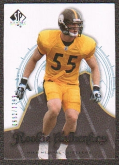 2008 Upper Deck SP Authentic #113 Mike Humpal /1399