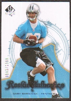 2008 Upper Deck SP Authentic #118 Gary Barnidge /1399