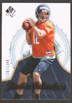2008 Upper Deck SP Authentic #132 Caleb Hanie /1399