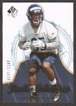 2008 Upper Deck SP Authentic #160 Zack Bowman /1399