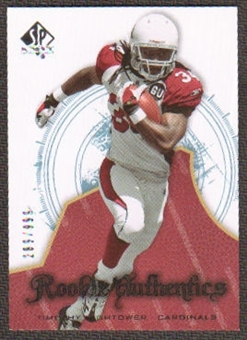 2008 Upper Deck SP Authentic #161 Tim Hightower /999