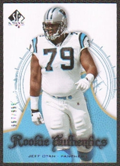 2008 Upper Deck SP Authentic #180 Jeff Otah /999