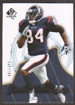 2008 Upper Deck SP Authentic #190 Darnell Jenkins /999