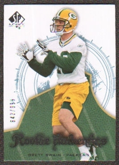 2008 Upper Deck SP Authentic #198 Brett Swain /999