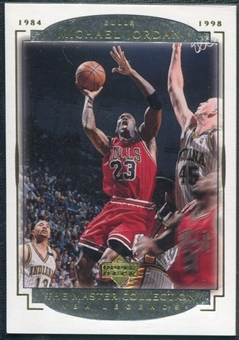 2000 Upper Deck Legends Master Collection #1 Michael Jordan /200
