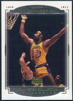 2000 Upper Deck Legends Master Collection #6 Wilt Chamberlain /200