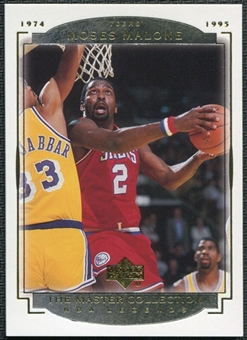 2000 Upper Deck Legends Master Collection #17 Moses Malone /200