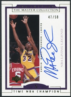 2000 Upper Deck Legends Master Collection Living Legends Autographs #EL4 Magic Johnson 47/50
