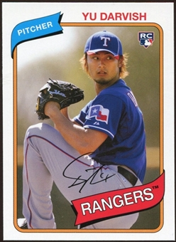 2012 Topps Archives #119 Yu Darvish RC