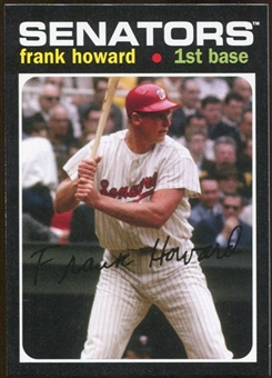 2012 Topps Archives #208 Frank Howard SP