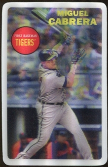 2012 Topps Archives 3-D #MC Miguel Cabrera