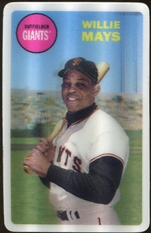 2012 Topps Archives 3-D #WM Willie Mays
