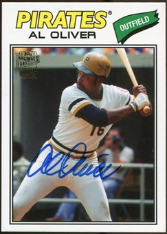 2012 Topps Archives Autographs #AO Al Oliver