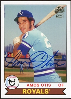 2012 Topps Archives Autographs #AOT Amos Otis