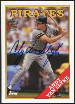 2012 Topps Archives Autographs #AVS Andy Van Slyke