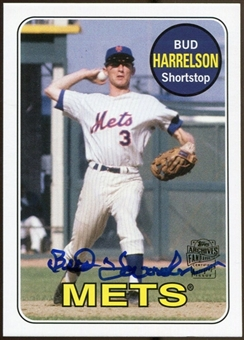 2012 Topps Archives Autographs #BH Bud Harrelson