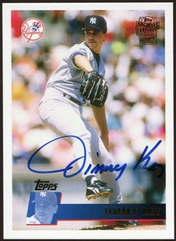 2012 Topps Archives Autographs #JKE Jimmy Key