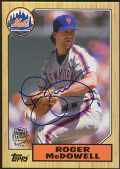2012 Topps Archives Autographs #RM Roger McDowell