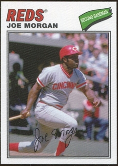 2012 Topps Archives Cloth Stickers #JM Joe Morgan
