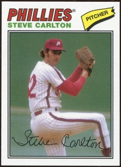 2012 Topps Archives Cloth Stickers #SC Steve Carlton