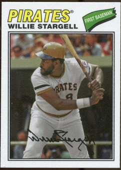 2012 Topps Archives Cloth Stickers #WS Willie Stargell