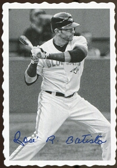 2012 Topps Archives Deckle Edge #3 Jose Bautista